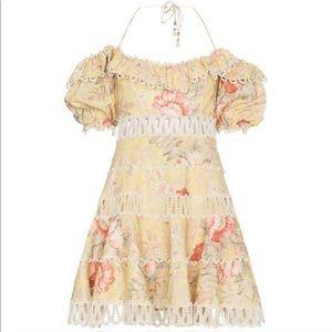 Zimmermann Melody Floral Dress Size 3 US(8-10)